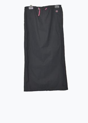 Стильная юбка спортивного стиля в пол