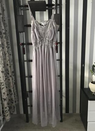 Нарядное выпускное вечернее платье в пол buch copengagen