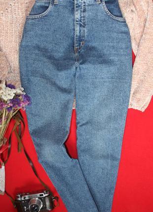 Джинсы с высокой посадкой. момы . джинсы мом original jeans hby