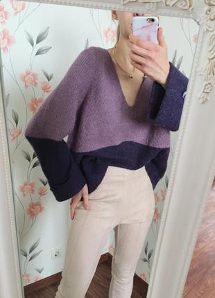 Полная распродажа всех вещей!!🔥крутой шерстяной свитер прямого...