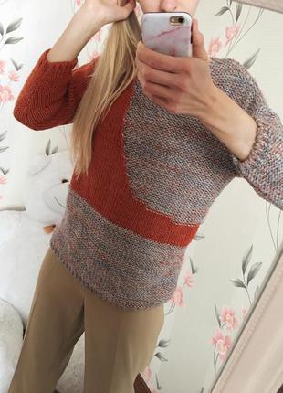 Полная распродажа всех вещей!!! разноцветный свитер джемпер  tu