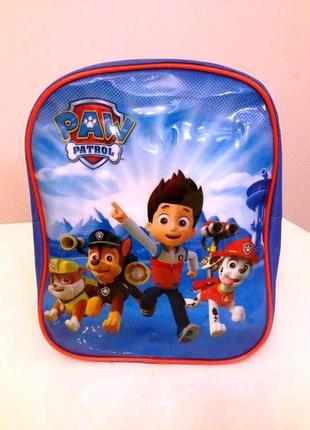 Дошкольный детский рюкзачок для мальчика щенячий патруль до 3-...
