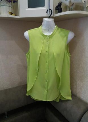 Яркая блузка рубашка бренд вс