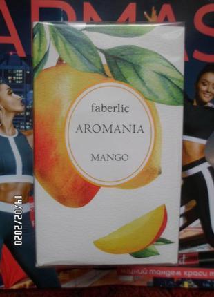 Туалетная вода для женщин aromania mango faberlic, 30мл