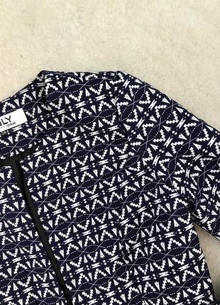 Принтованный жакет/куртка/пиджак