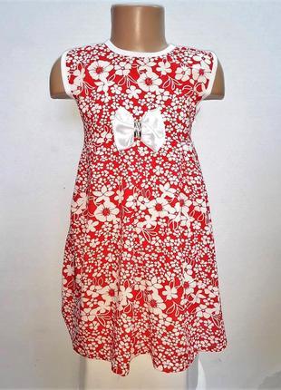 Детские летние платья для девочек из штапеля, легкие.