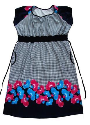 Платья женские летние больших размеров.