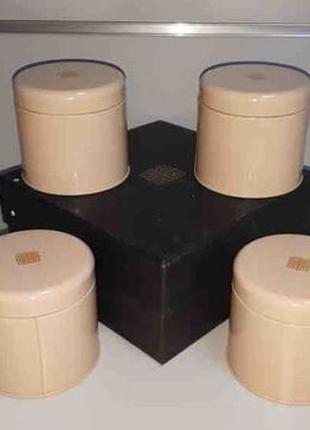 Набор контейнеров для чая 4 шт