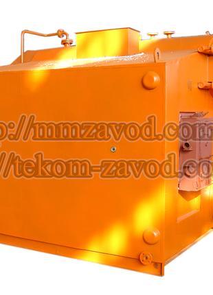 Паровой котел в водогрейном режиме Е-2,5-0.9ГМ (газ, мазут)