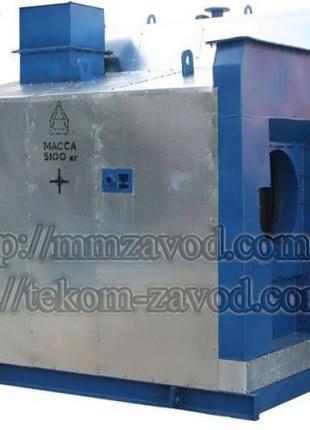 Паровой котел в водогрейном режиме Е-1.6-0.9 ГМН (газ, мазут)