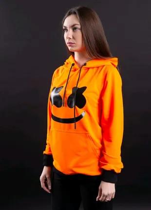 Худи Ira - Marshmello, оранжевый