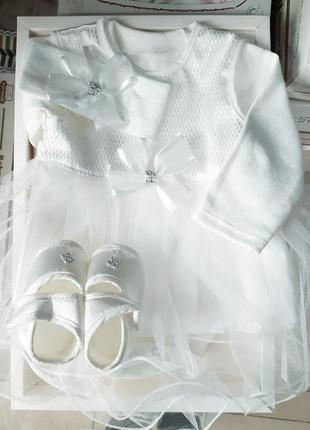 Набор для крещения. крестильные наборы в коробке.