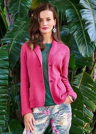Текстурный пиджак tchibo, германия - р. 46-48 укр.