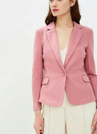 Пиджак жакет пыльной розы