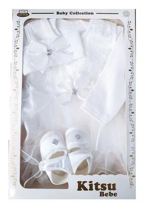 Крестильный набор в коробке, подарочный