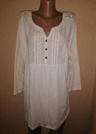 🔥🔥🔥красивая, натуральная котоновая женская кофта, блузка, руба...