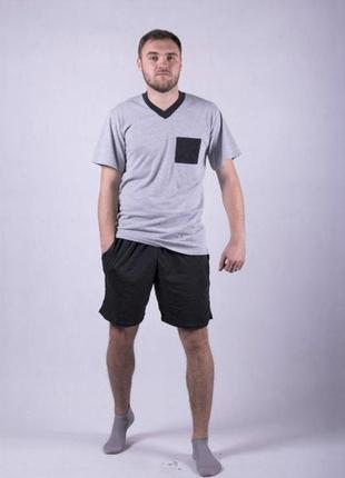 Пижама мужская хлопковая от 44 до 60 -го размера