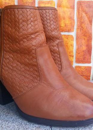 Ботинки кожаные от new look