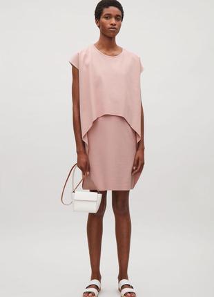 Платье с коротким рукавом cos
