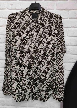 Стильная натуральная блуза известного бренда