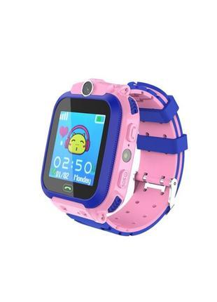 Детские смарт часы Kids Smart Watch Q12 умные с трекером телефон