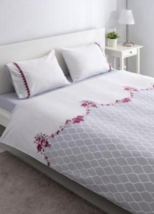 Турецкое постельное белье комплект постель наволочка пододеяль...