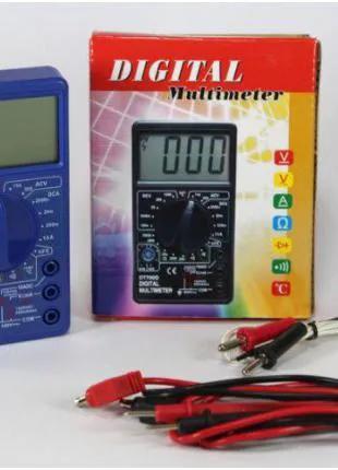 Мультиметр DT 700C цифровой тестр вольтиметр