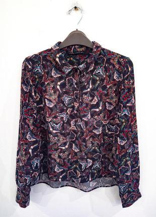 Блузка-рубашка zara