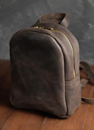 Женский кожаный рюкзак колибри