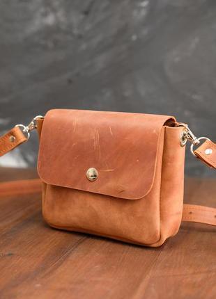 Женская кожаная сумочка колибри