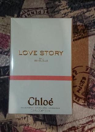 Парфюм chloé love story