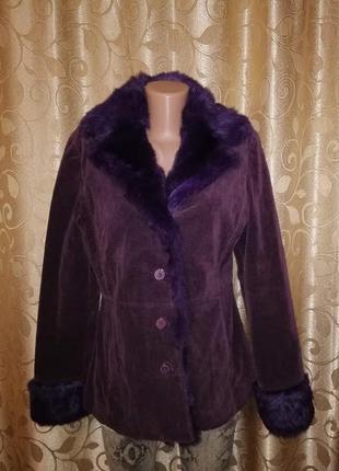 💖💖💖женская демисезонная куртка, пальто, шубка с натуральным ме...