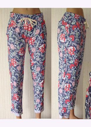 Летние брюки женские на резинке