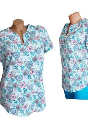 Шикарная женская блуза. 50-56 размеров.