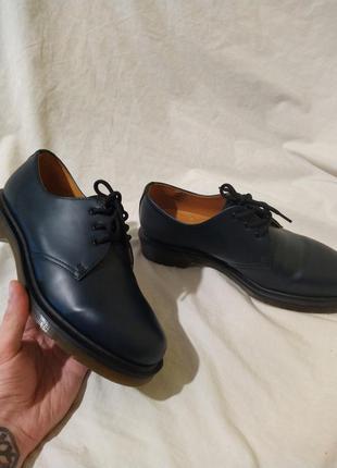 Ботинки туфли dr martens оригинал доктор мартинс кожа новые