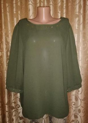 🌺🎀🌺стильная женская легкая кофта, блузка батального размера ge...