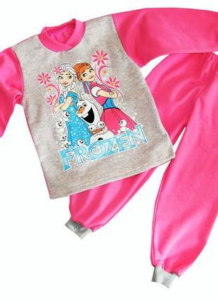Теплые детские пижамы для девочек.