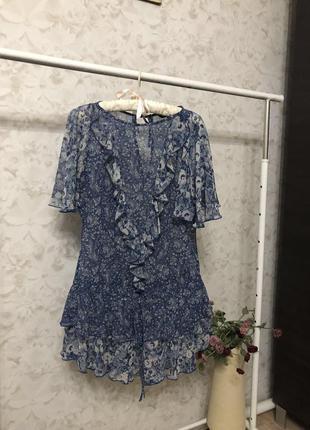 Удлиненная блузка с рюшами limited collection!