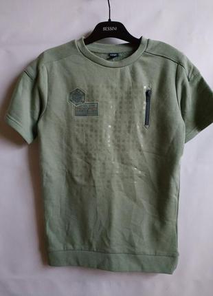 Свитшот с коротким рукавом на мальчика французского бренда kiabi