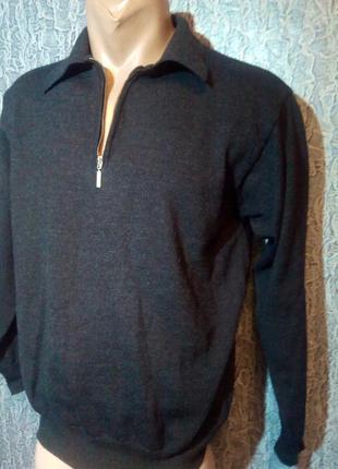 Супер свитер, из шерсти мериноса.