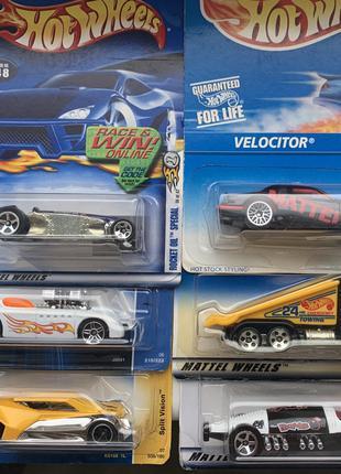 Машинки Hot Wheels из США