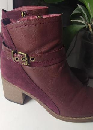 Женские сапожки ботинки 41р