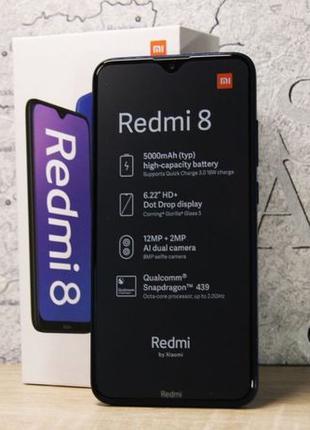 Xiaomi Redmi 8 4/64GB Синий цвет. Глобальная версия.