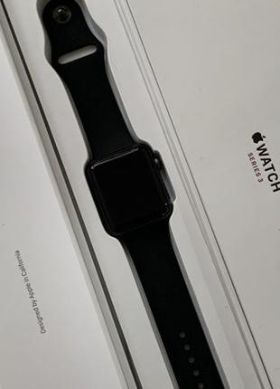 Apple Watch Series 3 42mm LTE Gray ГАРАНТИЯ
