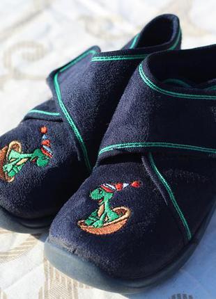 Для малышей тапки-ботинки для сада и для прогулок ronde