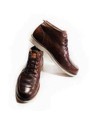 Мужские кожаные ботинки fossil сша