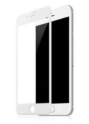 Защитное стекло 19D для iPhone 7/8 White