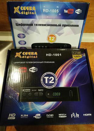Тюнер Т2 HD-1001
