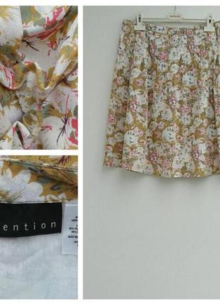 Летняя юбка легкая натуральная