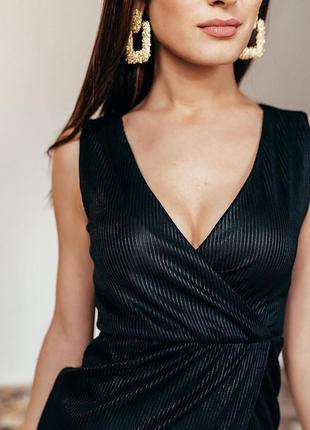 Нарядное платье сарафан атлас